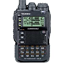 Triple Band 50-144-430 Yaesu VX-8DR Submersible VHF/UHF Amateur Radio Transceiver