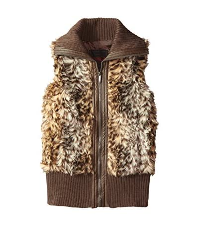 Yoki Women's Faux Fur Vest