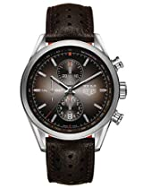 Tag Heuer Carrera 300 SLR Brown Dial Chronograph Mens Watch CAR2112FC6267