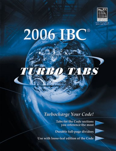 Turbo Tabs for ICC's 2006 International Building Code