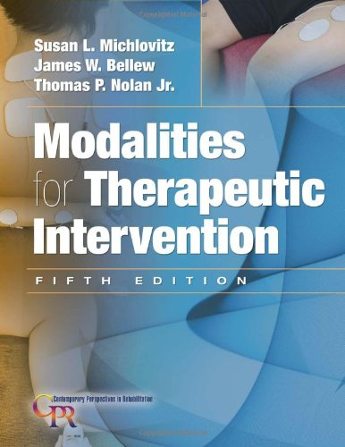 Modalities for Therapeutic Intervention (Contemporary...