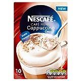 Nescafé Café Menu Cappuccino Decaff 15 g (Pack of 6, Total 60 Units)