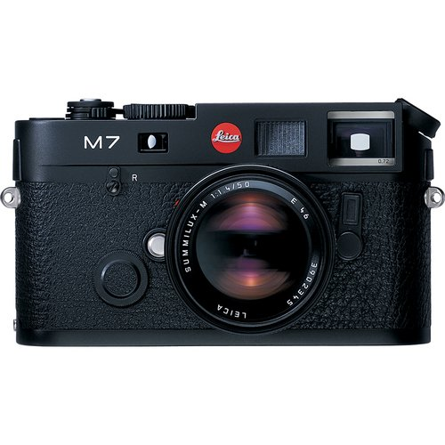 Buy Bargain Leica M7 0.72 35mm Rangefinder Camera body black with 0.72 viewfinder magnification u.s....