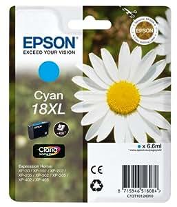 Epson Pâquerette 18 XL T1812 Cartouche d'encre Cyan