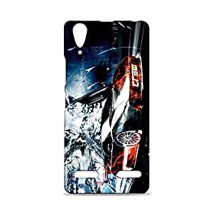 ezyPRNT Mobile Back Case Cover for Lenovo A6000 with Beautiful Premium Catch me if u can Design