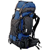 TAIGA International® Traverse - Travel and Hiking Backpacks, Navy Blue
