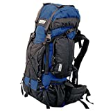 TAIGA International® Traverse – Travel and Hiking Backpacks Back Packs, Navy Blue, Medium
