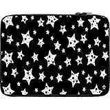Snoogg Star Pattern 2438 12 To 12.6 Inch Laptop Netbook Notebook Slipcase Sleeve
