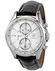 Tag Heuer Men's CAR2111.FC6266 Carrera Silver Dial Dress Watch