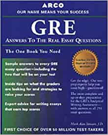 Gre cat answers to the real essay questions 2nd edition