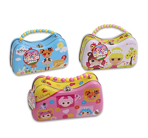 Lalaloopsy Tin Purse with Beaded Handle - Style May Vary