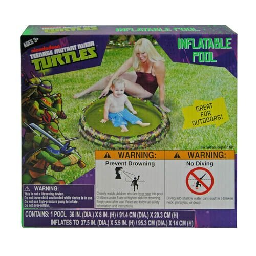 Teenage Mutant Ninja Turtles Inflatable Pool front-1081182