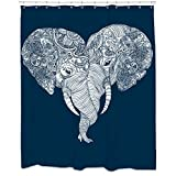 Sharp Shirter Punch Trunk Love Shower Curtain