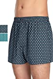 2 Pack Pure Cotton Ditsy Print Boxers [T14-1000A-S]