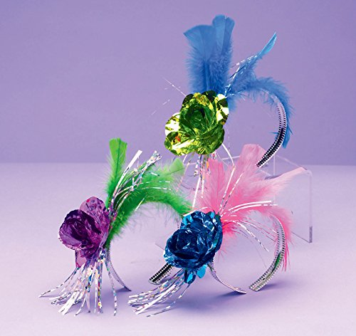 Rose and Feather Trendy Tiara