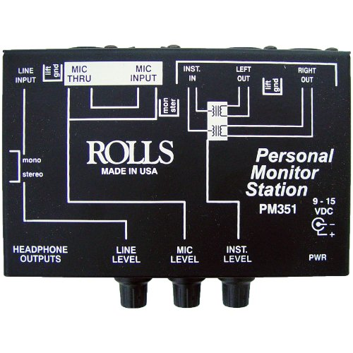 Rolls Personal Monitor Station - Rolls Pm351