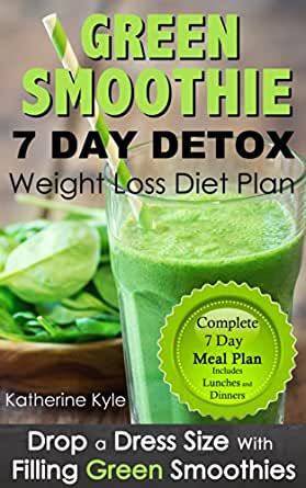 7 Day green smoothie weight loss diet plan: Drop a dress ...