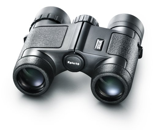 Silva Epic 10X25 Binoculars, 10X Magnification - Black