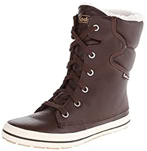 Amazon.com: Keds Women's Droplet Leather Snow Boot: Shoes