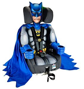 Kids Embrace Batman Deluxe Combination Toddler/Booster Car Seat