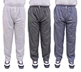 NATIONWIDE GARMENTS SOILD MULTICOLOR PACK OF 3 TRACK PANTS (SIZE-XXL)