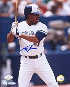 George Bell Autographed  Original Signed 8x10 Color Photo Showing Him in a Toronto... by Original Sports Autographs
