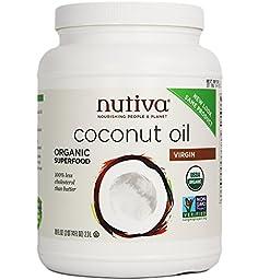 Nutiva Organic Virgin Coconut Oil, 78 Ounce