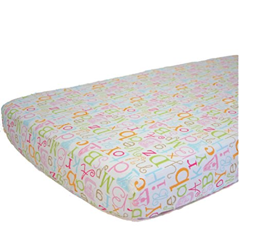 Nurture ABC Fitted Crib Sheet - 1