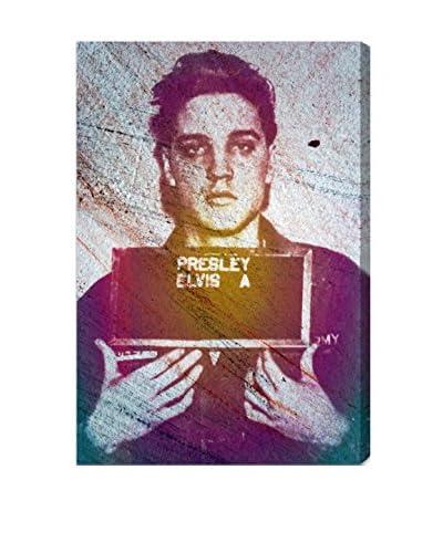 "Oliver Gal ""Elvis Army ID"" Canvas Art"