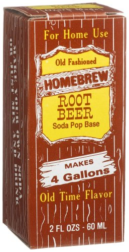 Homebrew Root Beer Pop Concentrated Extract, 2-Ounce Boxes (Pack Of 3) front-625036