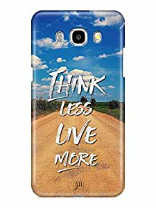 YuBingo Think Less. Live More Designer Mobile Case Back Cover for Samsung Galaxy J7 2016