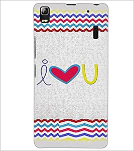 PrintDhaba Quote D-4825 Back Case Cover for LENOVO K3 NOTE (Multi-Coloured)