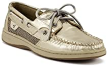 Big Sale Sperry Top-Sider Women's Bluefish Gold Loafer,Platinum,10 M US
