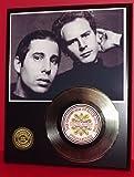 Simon & Garfunkel 24Kt Gold Record LTD Edition Display