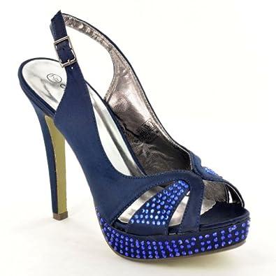 Original Home  Women Navy Blue Sandals Navy Blue  Arthur