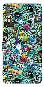 Sony Xperia M4 Aqua Printed Back Cover/Soft Back Cover/Designer Back Cover/Silicone Back Cover/Printed Silicone Back Cover + Free Mobile Stand (Assorted Design)