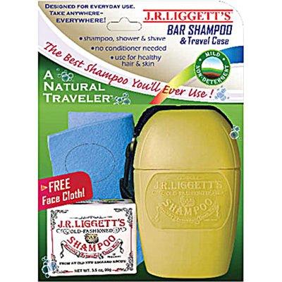 J.R. Liggett'S Bar Shampoo & Travel Case, Natural Traveler front-346224