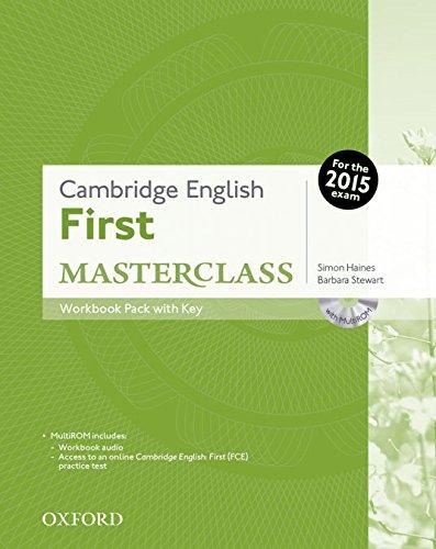 Cambridge English: First Masterclass: First masterclass. Workbook. With key. Con espansione online. Per le Scuole superiori. Con CD-ROM