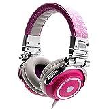 iDance Disco 300 Kopfhörer mit 40mm Treiber silber/pink