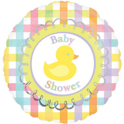 "18"" Baby Shower Duck Vlp"
