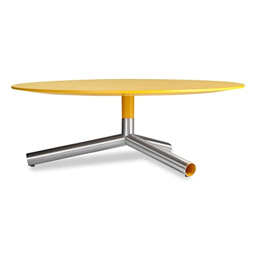 Blu Dot Sprout Coffee Table, Complete Yellow