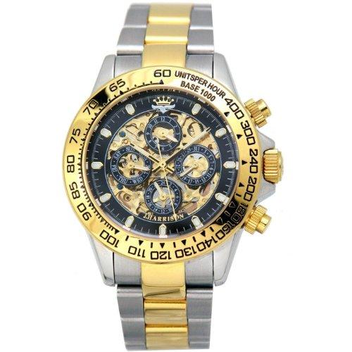 ジョンハリソン JOHN HARRISON フルスケルトン 自動巻き 腕時計 JH003-GB