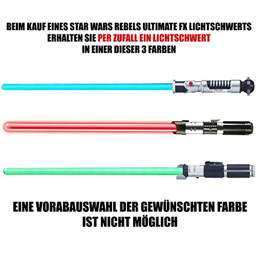 A0861E35 - Star Wars Rebels Ultimate FX Lichtschwert - Sortiment