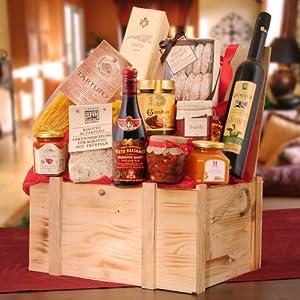 Italienische Spezialitäten in der Geschenkkiste