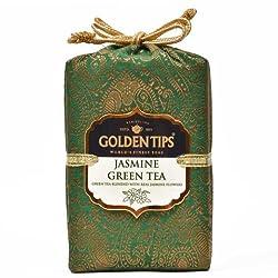 Golden Tips Jasmine Green Tea Brocade Bag (250g)