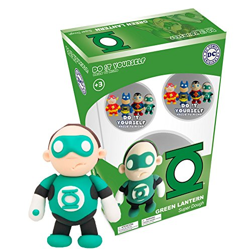Green Lantern Super Dough Do It Yourself Modeling Set