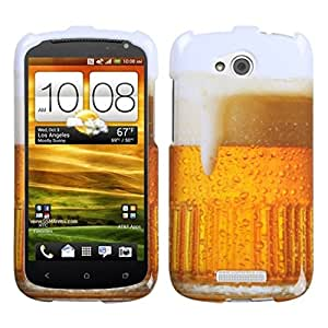 MYBAT HTCONEVXHPCIM909NP Slim and Stylish Protective Case for HTC One VX - 1 Pack - Retail Packaging - Beer-Food Fight