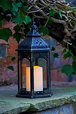 Smart Garden Battery Moroccan Lantern Candle