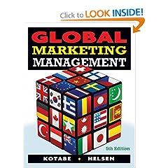 Global Marketing Management (9780470381113)