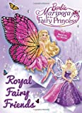 Royal Fairy Friends (Barbie) (Deluxe Coloring Book)